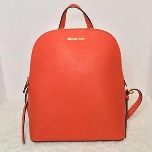 NWT-Michael Kors Cindy  Saffiano Leather Backpack